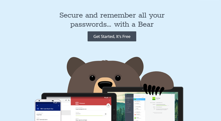 RememBear is a password manager for Windows/Mac/iOS/Android