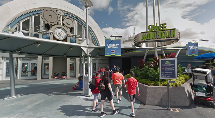 Want to see Disneyland without going there? Try Street View