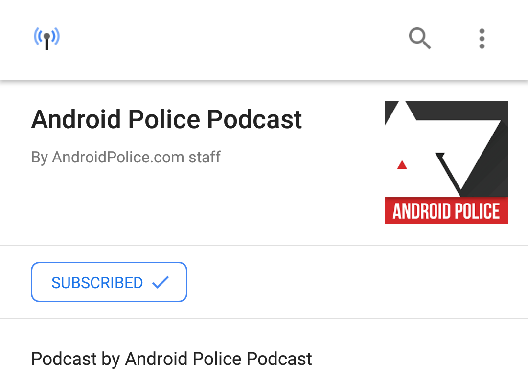 You can now download podcasts to listen to offline in the Google app