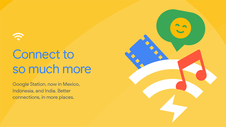 Google Station's high-speed Wi-Fi hotspots expand to Mexico starting today