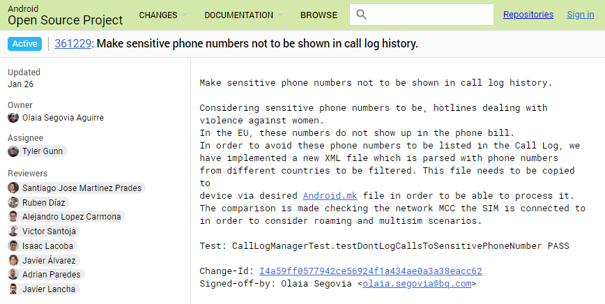 Android May Hide Sensitive Numbers From The Call Log In Future