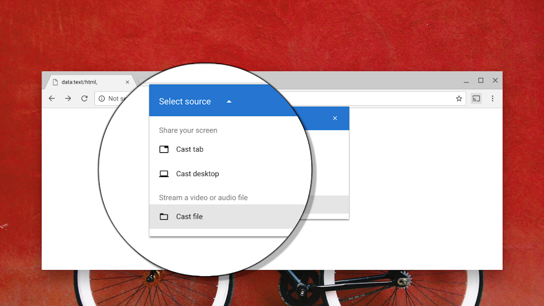 Chrome will soon finally support casting local files