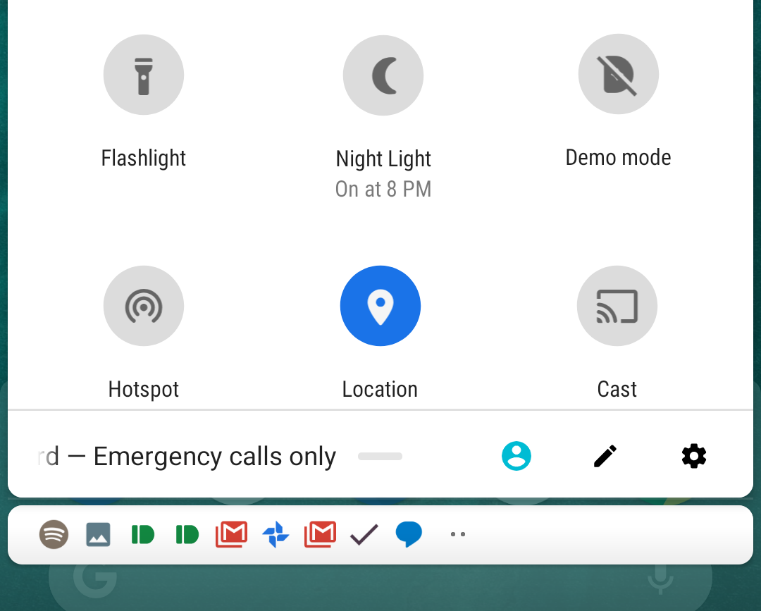 Android P feature spotlight: Night Light toggle now tells