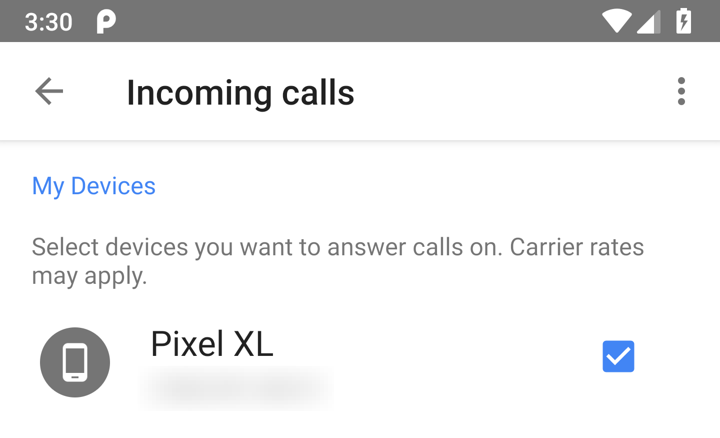 Google voice v59 prepares voicemail greetings to be recorded in app there also happens to be a small change to that same screen that just had the rename mentioned above instead of just showing the phone number for a linked m4hsunfo