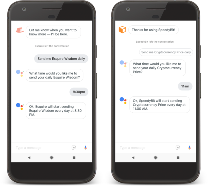 Google Assistant can now understand customized commands for third-party apps