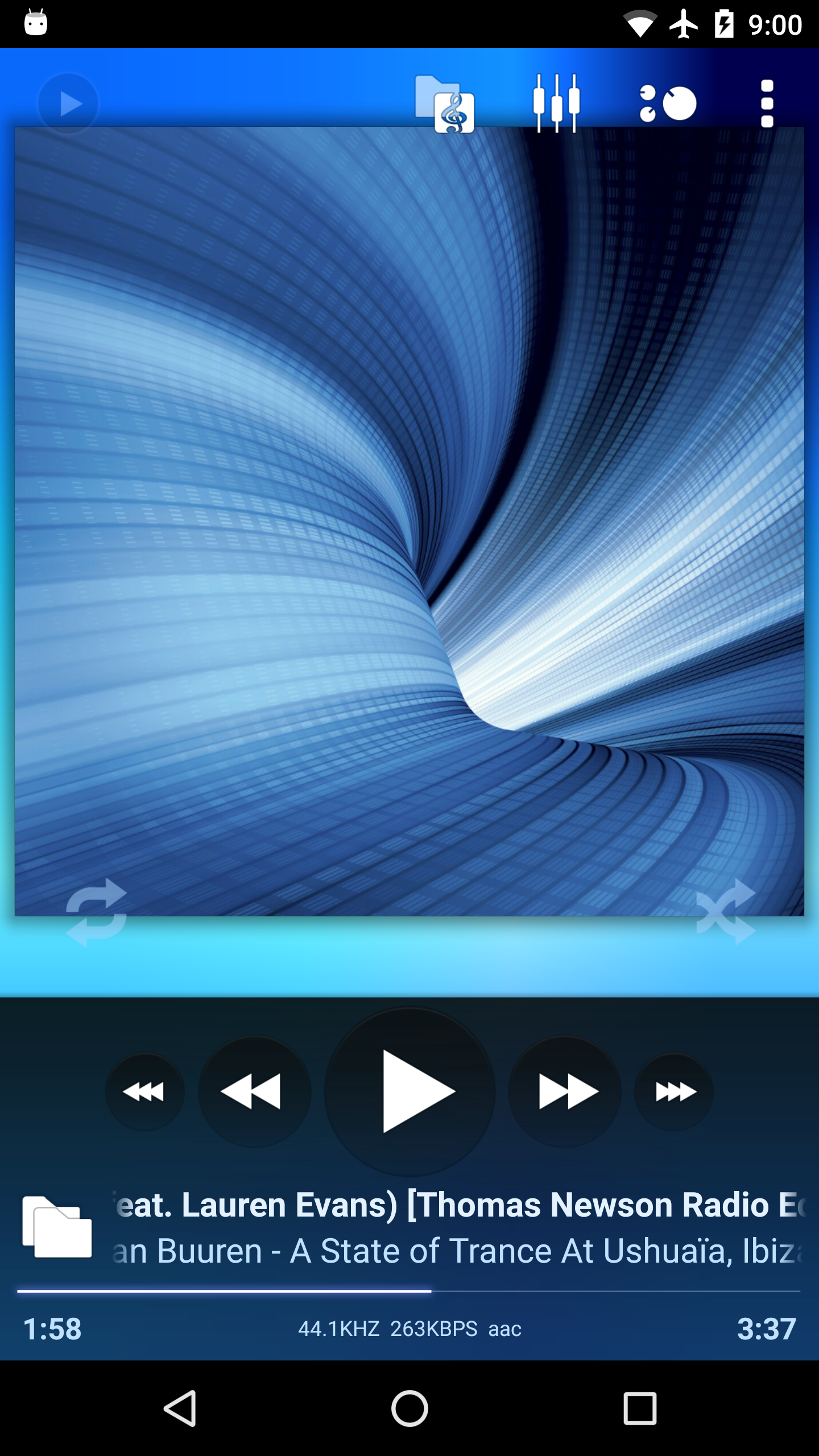 Update: Now on Play Store] Poweramp v3 beta shows off a complete