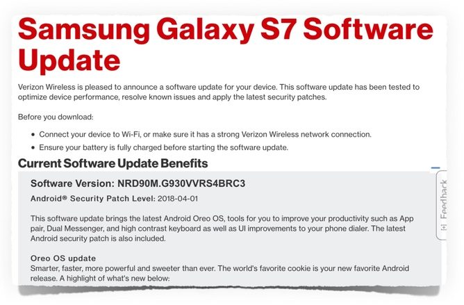 Android Oreo Download For Samsung