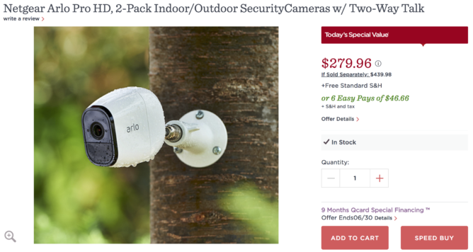 Deal Alert Arlo Pro 2 Pack Down To Just 280 140 Off