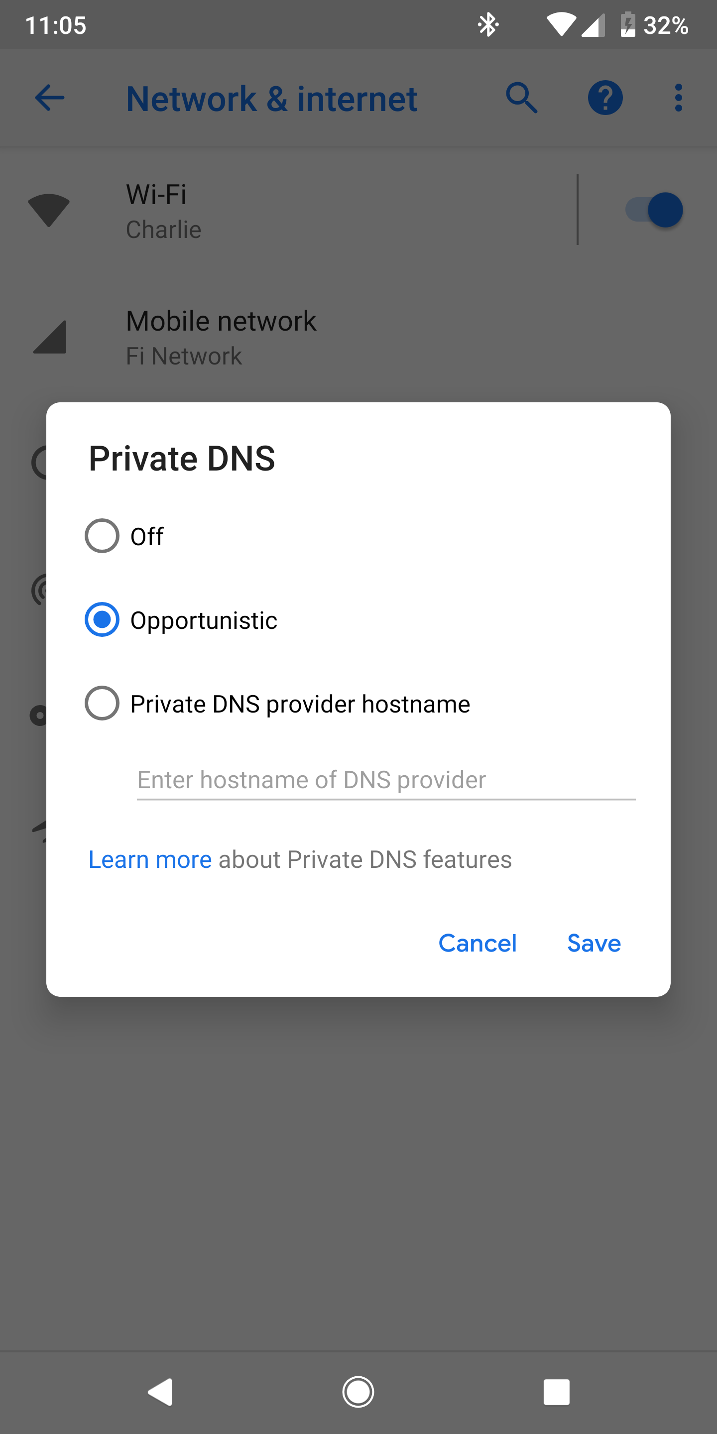 Google explains new Private DNS setting in Android P