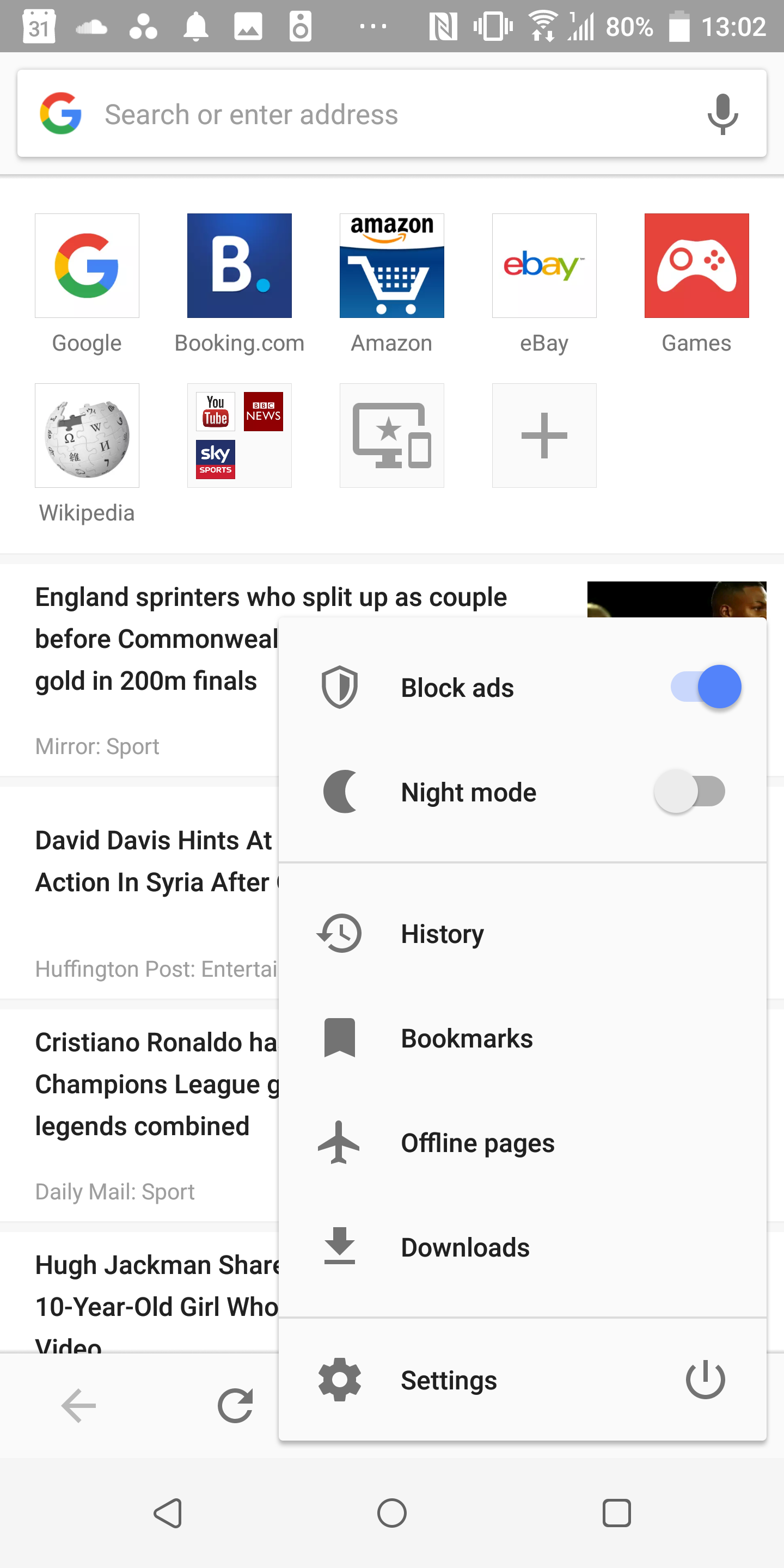 Opera Browser Beta adds night mode in latest update [APK Download]