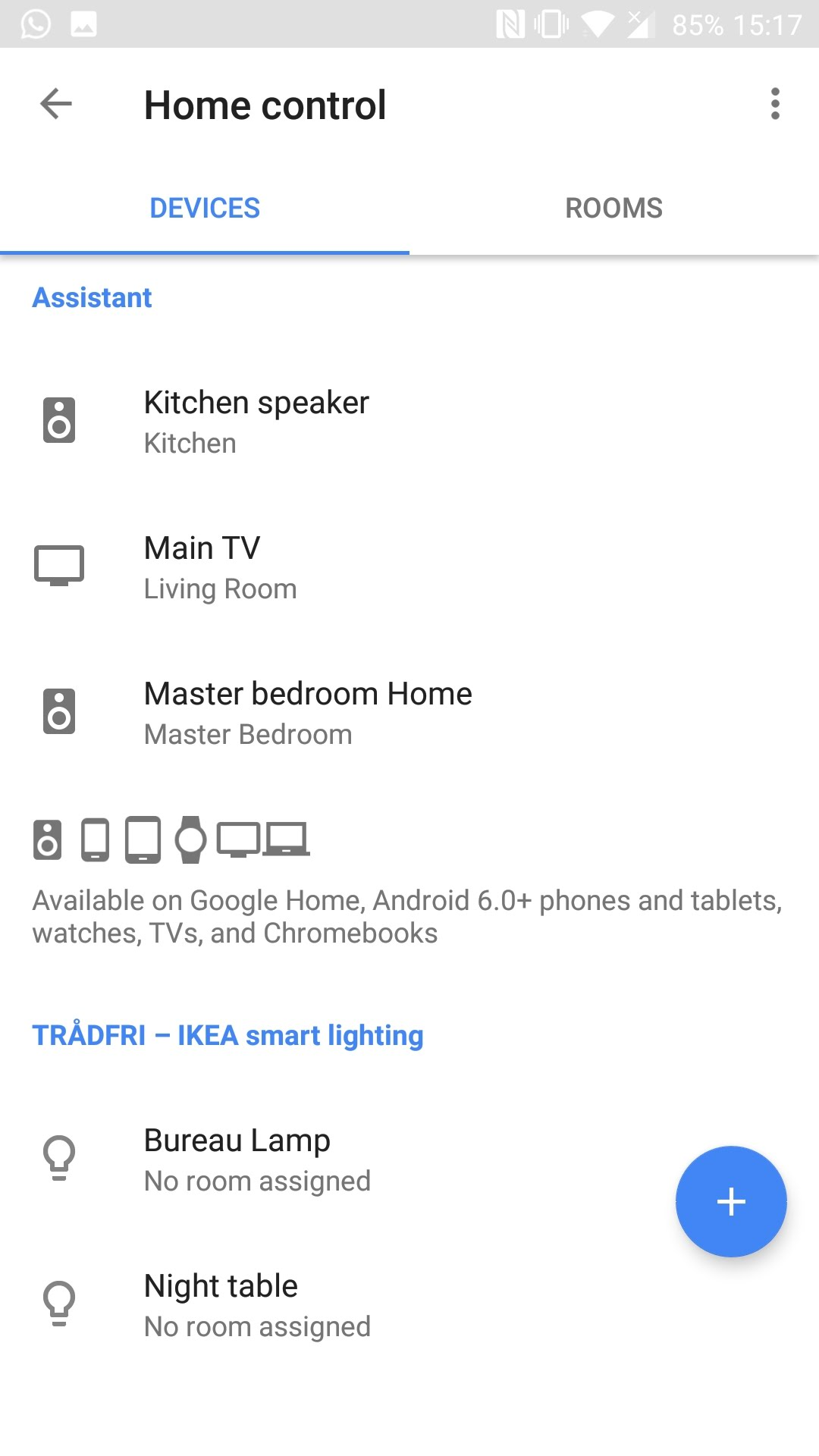 Ikea TRÅDFRI smart lights can now be controlled from Google