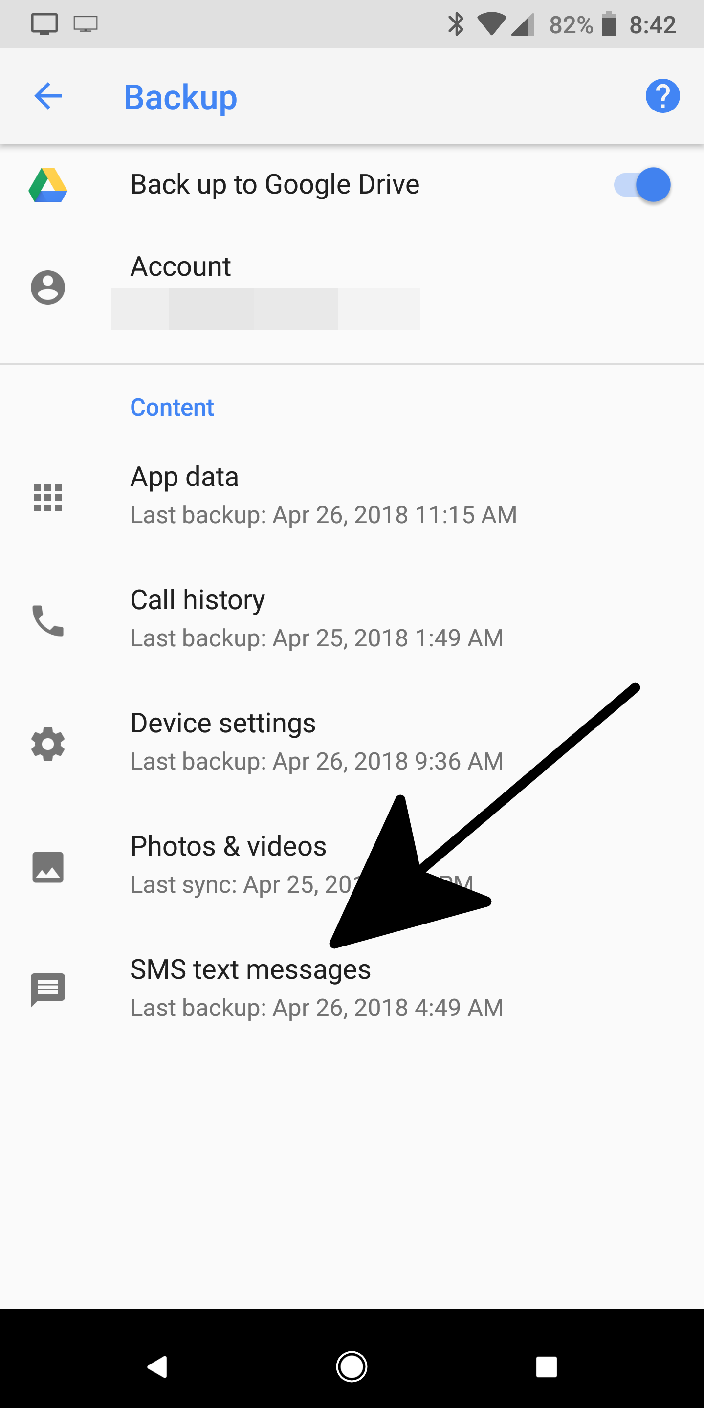 How to back up your SMS text messages on Android