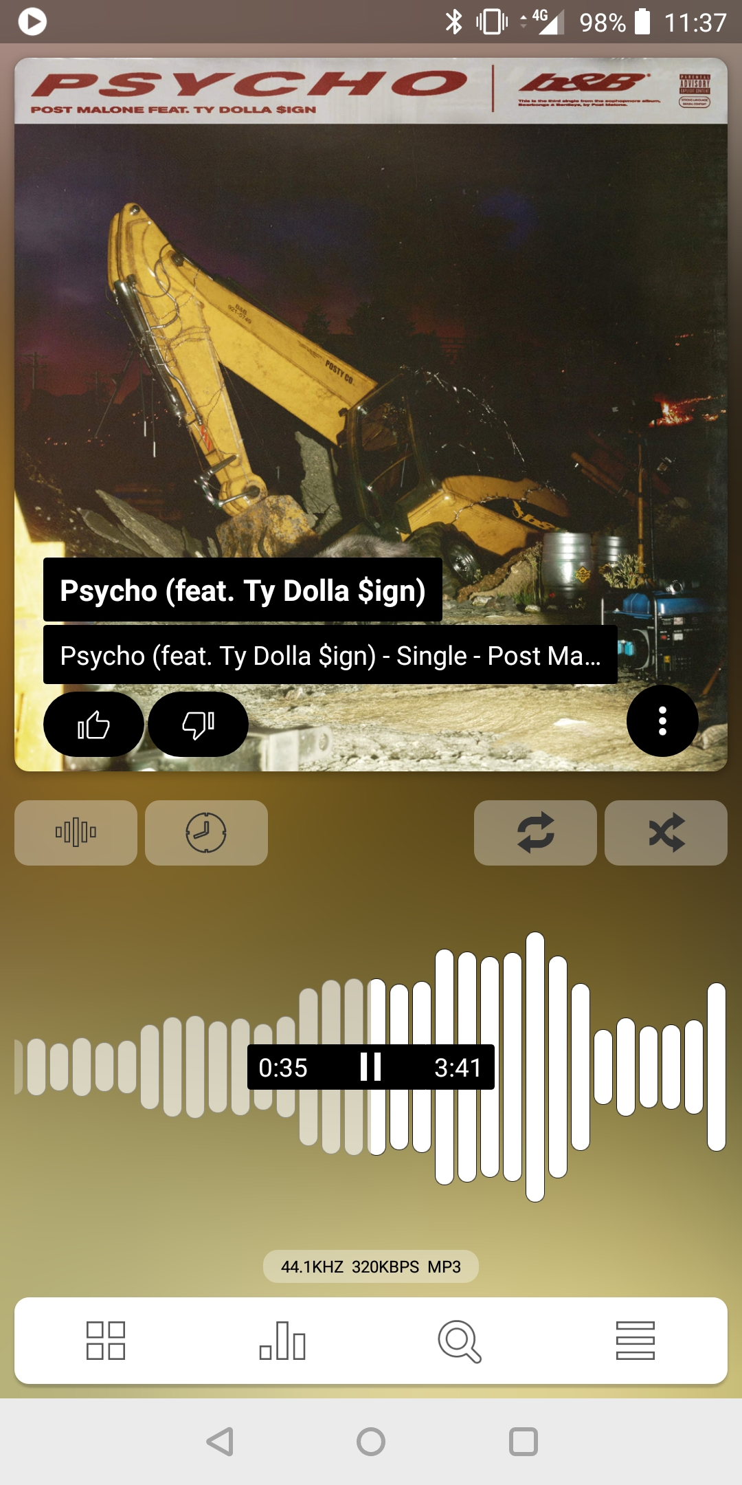Update: Now on Play Store] Poweramp v3 beta shows off a