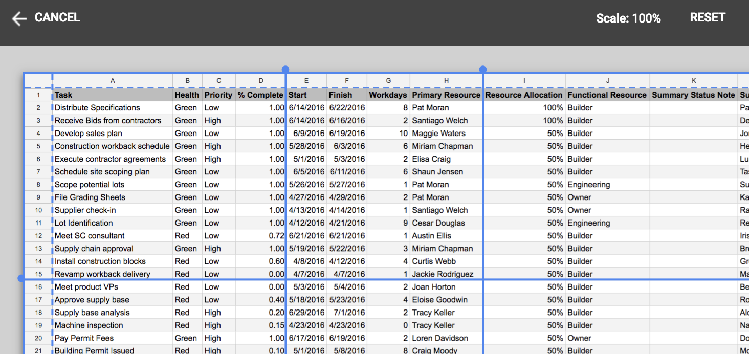 Google Sheets finally supports recording macros, adds row