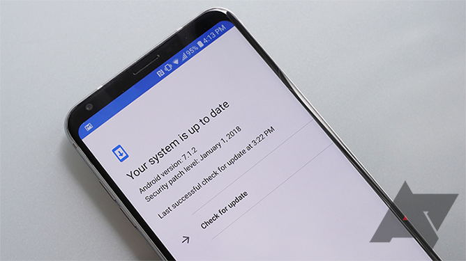 Your phone's Android security patches may not be as up to