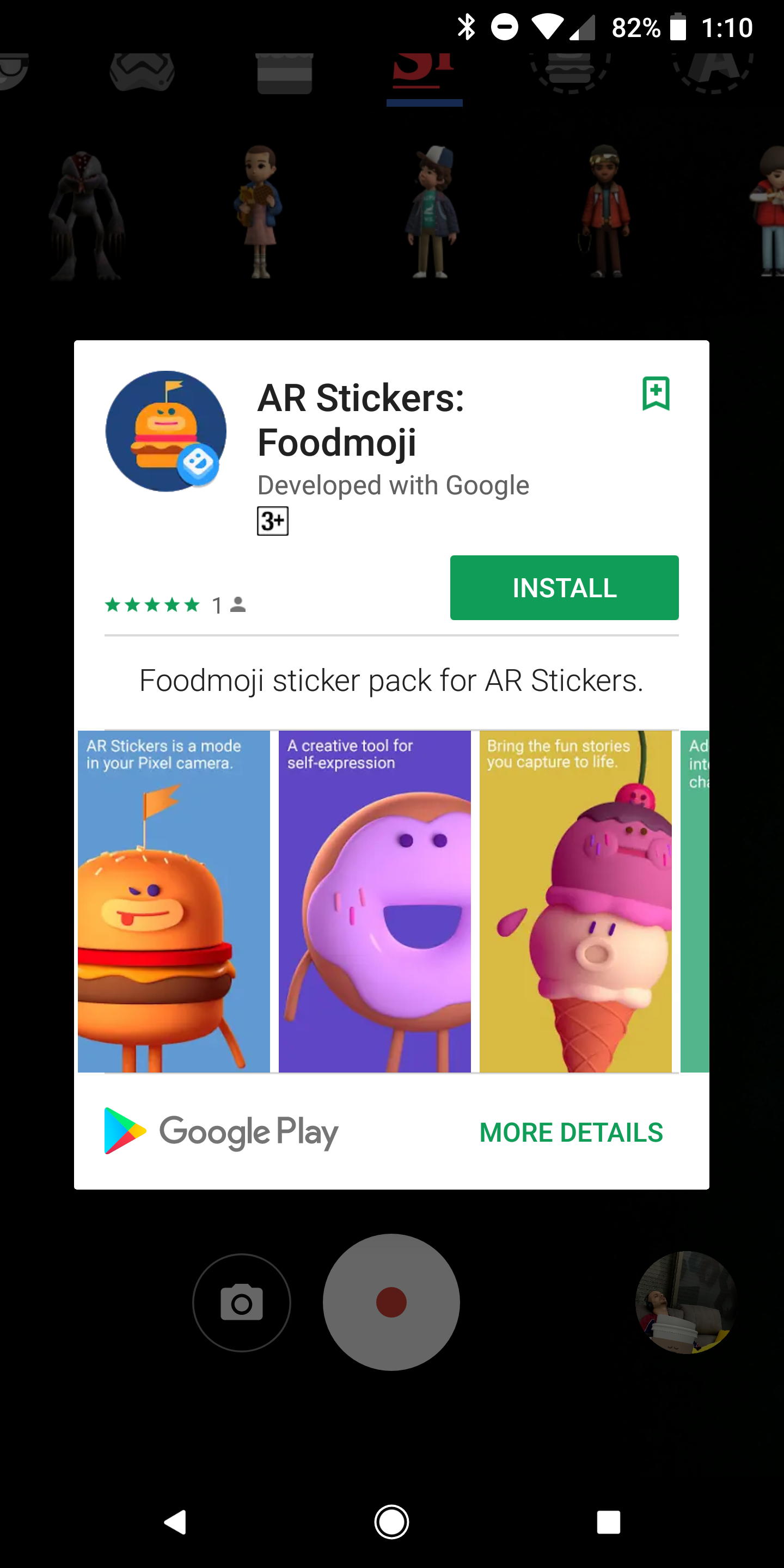 I am not normally a fan of having an app separated into many tiny ones, but  I do understand Google's thinking here. You may not want or use all sticker  ...