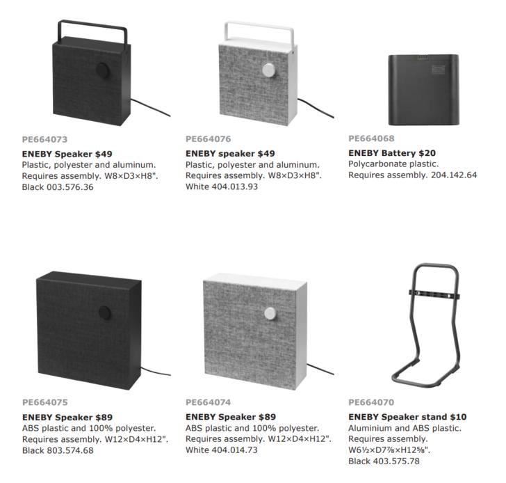 Ikea Debuts Eneby Bluetooth Speakers on Ikea New Furniture Line