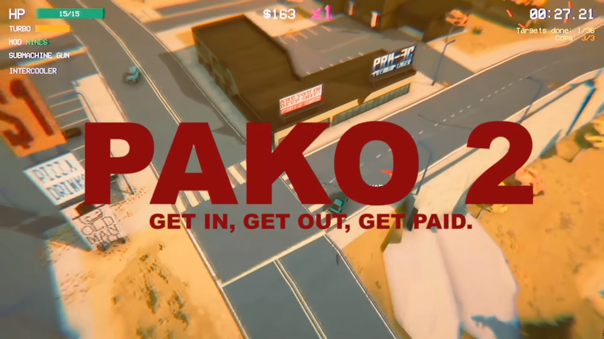 Make A Quick Getaway In Pako 2 The Long Awaited Arcade Racing