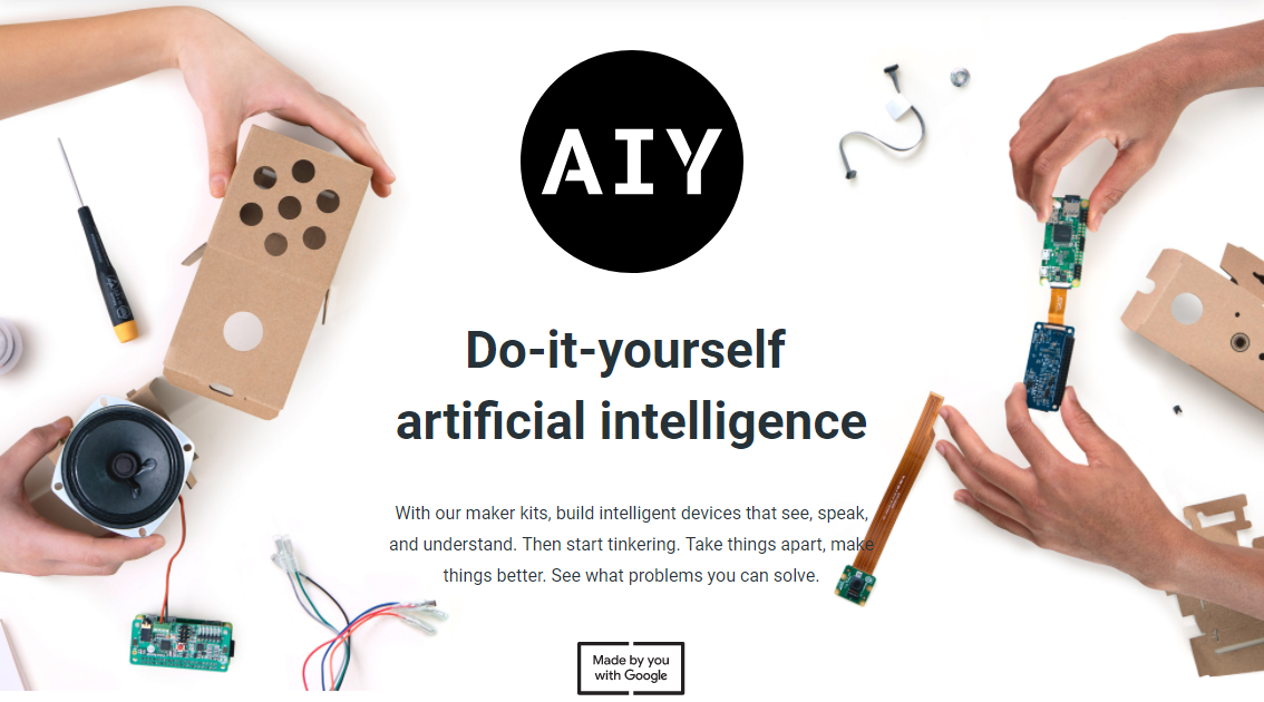 Google announces 2018 AIY Projects kits with Raspberry Pi