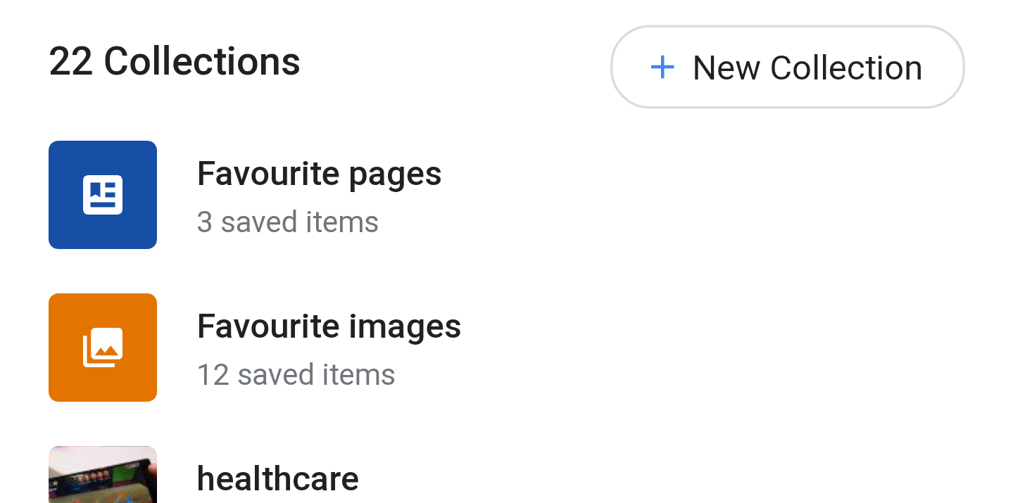 Google Collections Start Rolling Out, Replacing Saved Pages