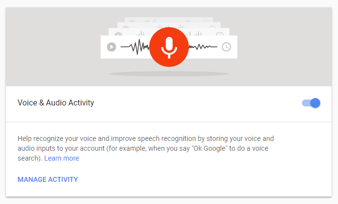 How to remove your Google voice search history and opt out
