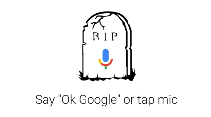 Google app kills the last remnants of Voice Search