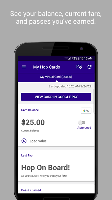 Google Pay now supports Hop Fastpass transit tickets in Portland, Oregon