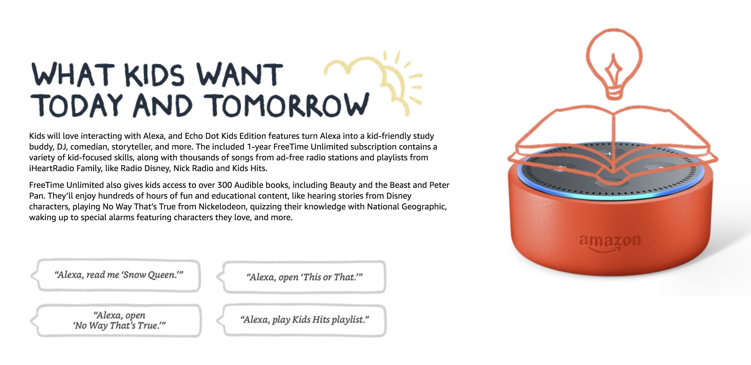 Amazon brings family focused freetime service to alexa and launches amazon brings family focused freetime service to alexa and launches echo dot kids edition thecheapjerseys Images