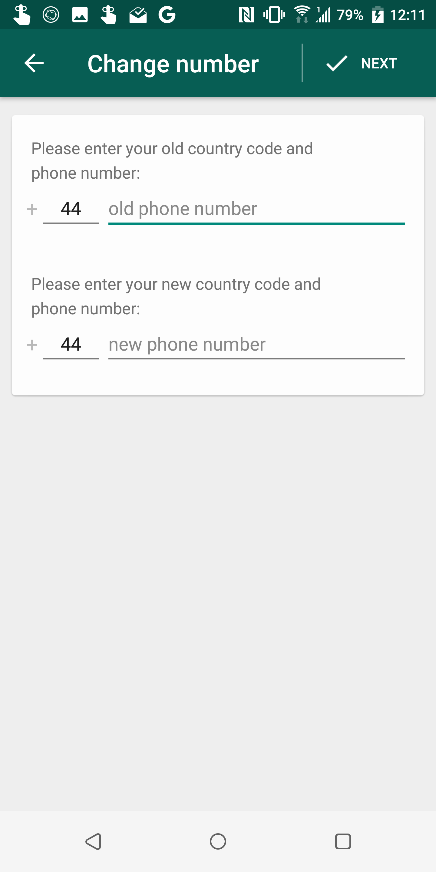 WhatsApp's 'change number' feature now includes an option to