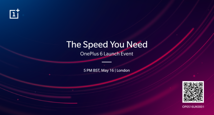 OnePlus 6 Is Set To Launch On 17 May