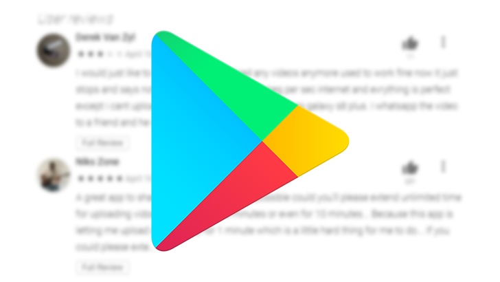 Your Google Play Store review edit history is now visible to the public