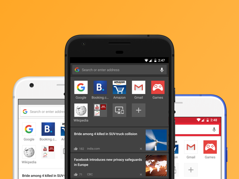 Opera for Android v46 adds themes, night mode, and more