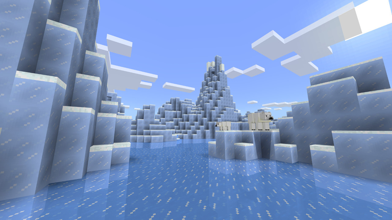 Minecraft 1 4 adds Phase One of the Update Aquatic, and the