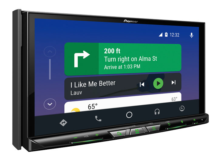 pioneer releases a pair of new android auto head units. Black Bedroom Furniture Sets. Home Design Ideas