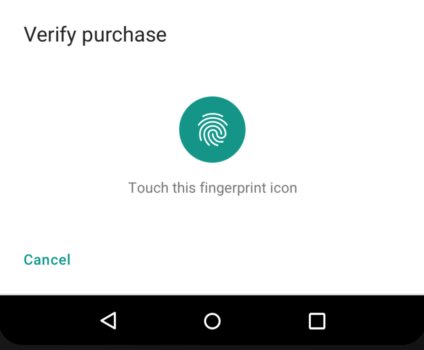 Android P DP2 adds new API with support for fingerprint