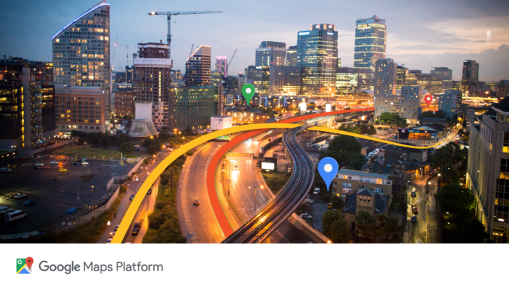 Google Maps Platform lets businesses integrate Maps navigation data in their apps