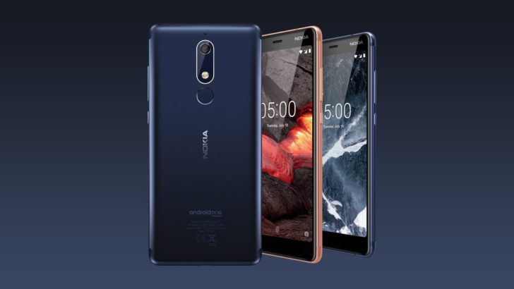 HMD Global announces Nokia 2.1, 3.1 and 5.1 smartphones