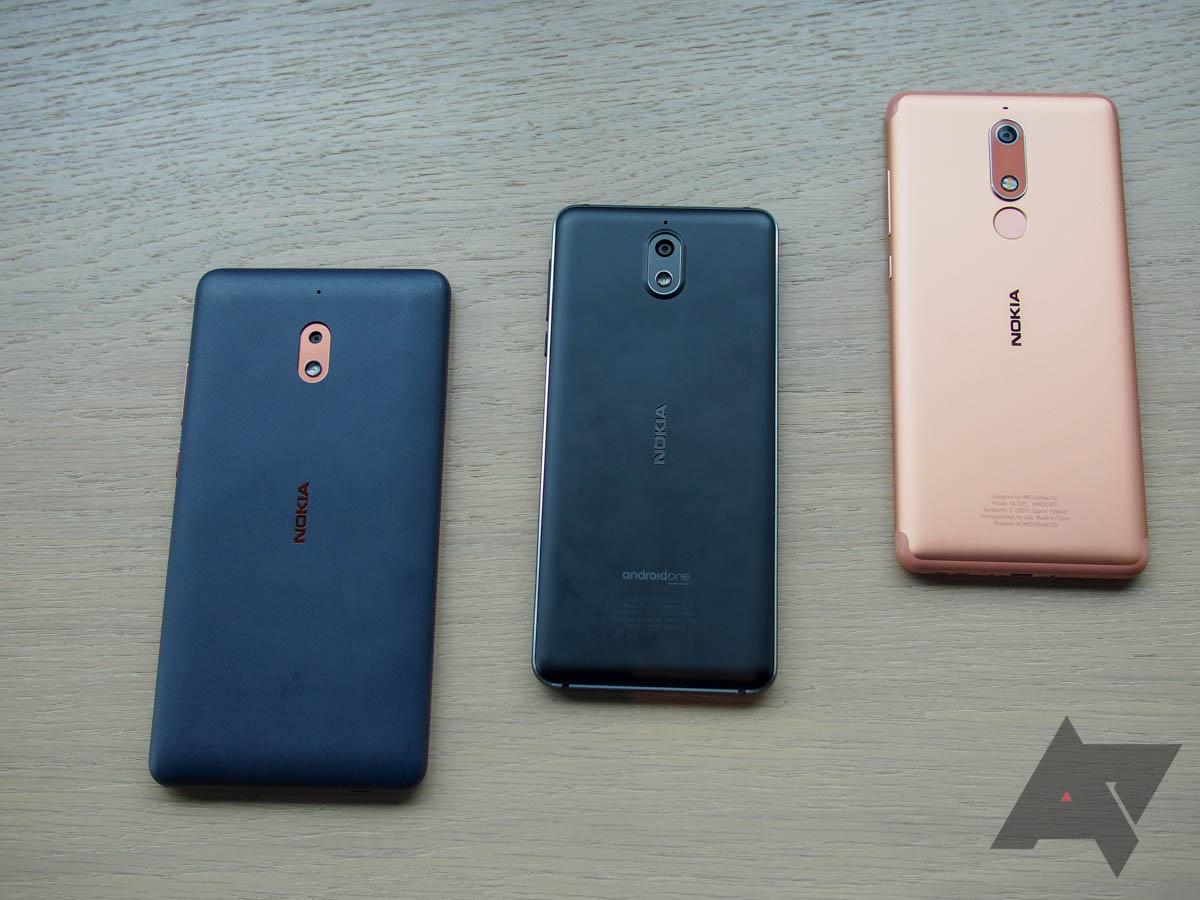 Hands-on with the Nokia 2 1, 3 1, and 5 1: HMD keeps making