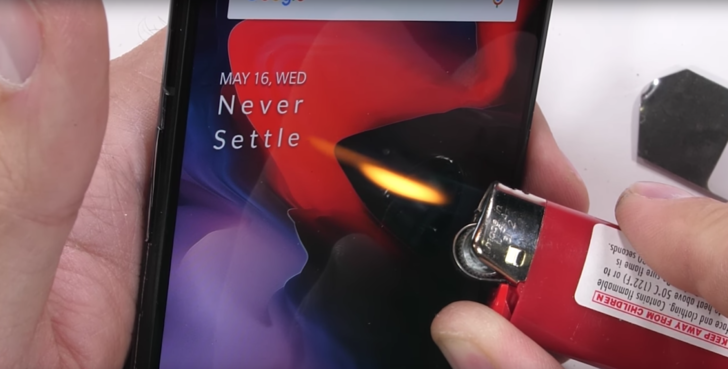 OnePlus 6 passes YouTuber's burn, bend, and scratch durability tests