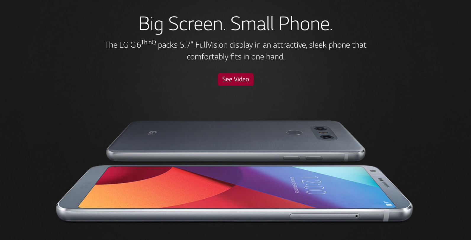 LG is adding 'ThinQ' branding to the year-old G6 because why the