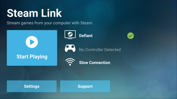 Steam Link Game Streaming App Available in Beta on Android