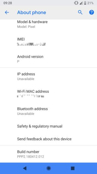 Screenshot 20180508 092819 329x586 - Vazam possíveis novidades sobre o Android P