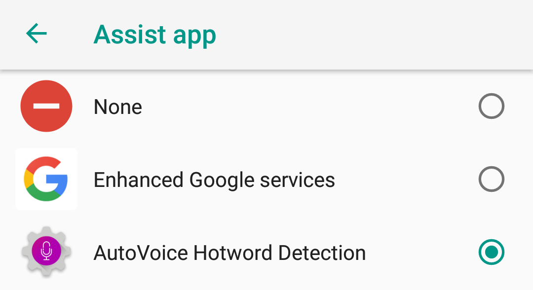 AutoVoice 3 5 lets you create your own custom Assistant