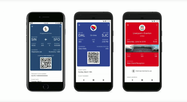 You Can Now Load Your Boarding Passes and Tickets into Google Pay