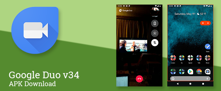 Google Duo v34 brings the official rollout of screen sharing, except it's totally broken [APK Download]