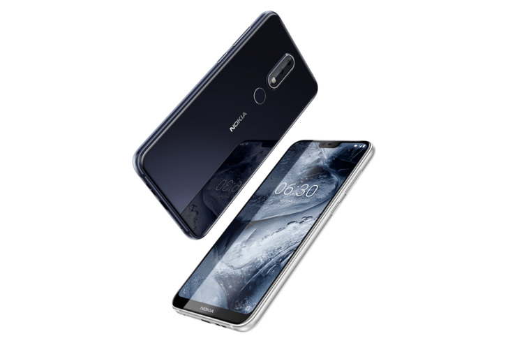 Nokia's first smartphone with a notch officially unveiled in China