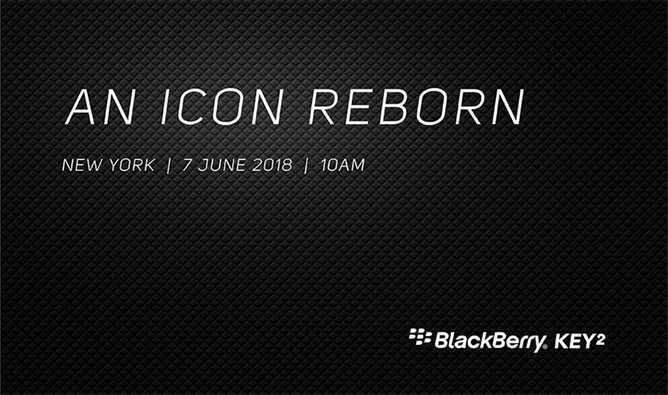 BlackBerry KEY2 to Launch at June 7 New York Event