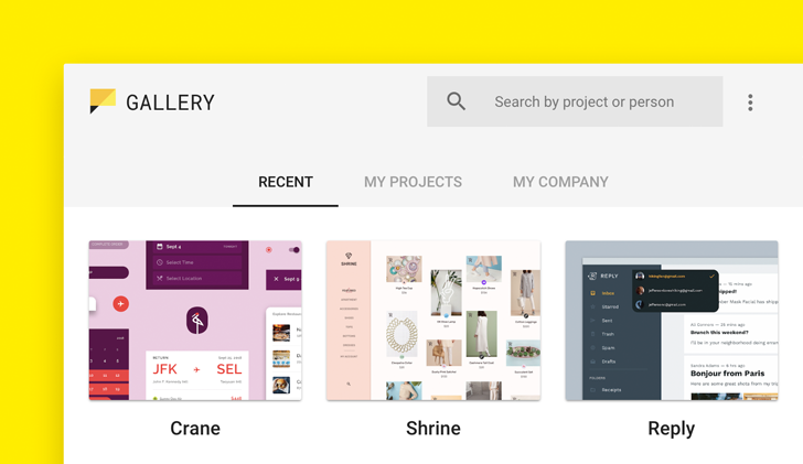 Google launches Material Gallery tool for design