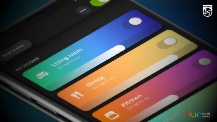Hue app adds 'Zones' for custom light grouping