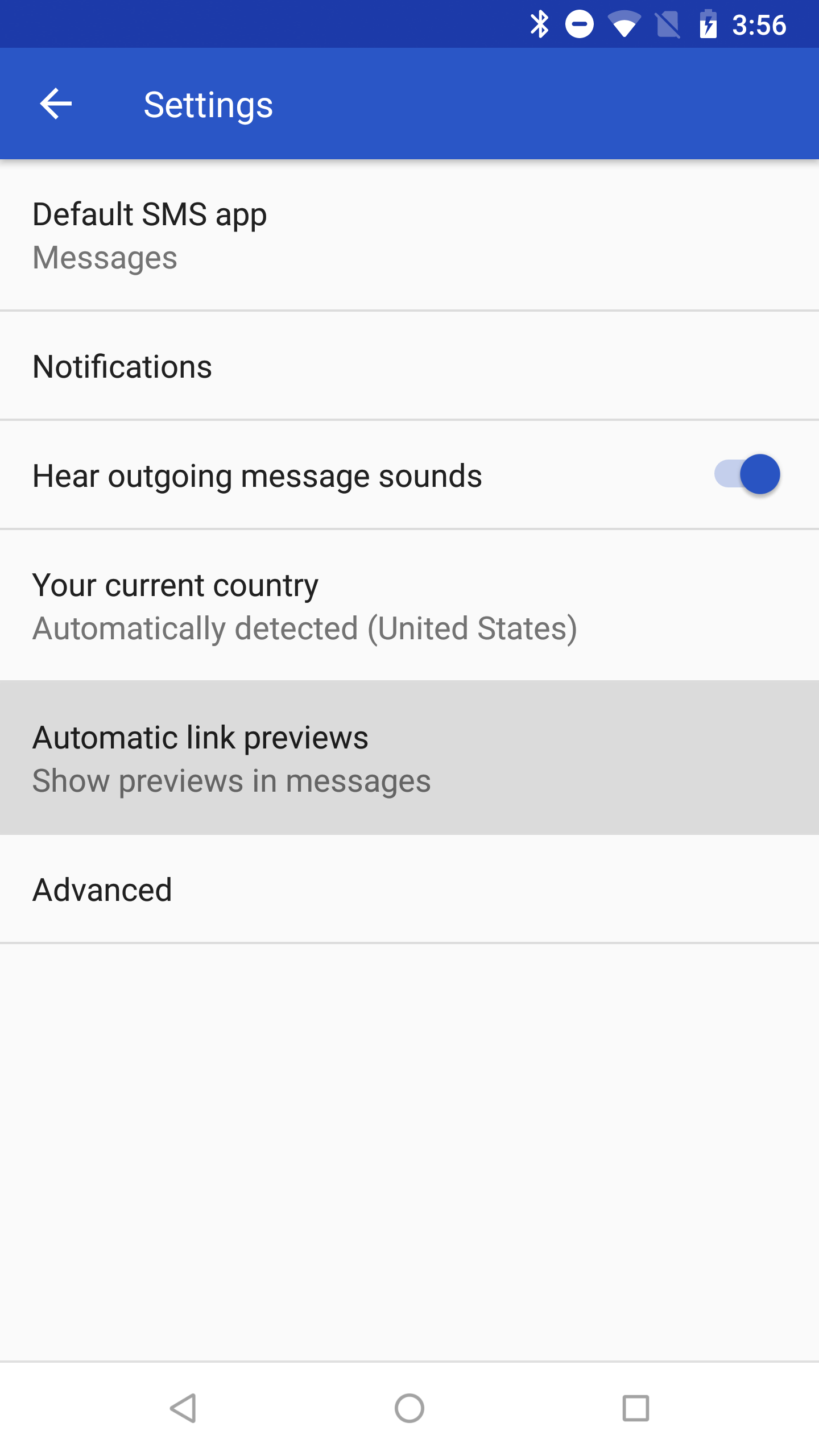 Android Messages v3 2 adds link previews, prepares dark mode and
